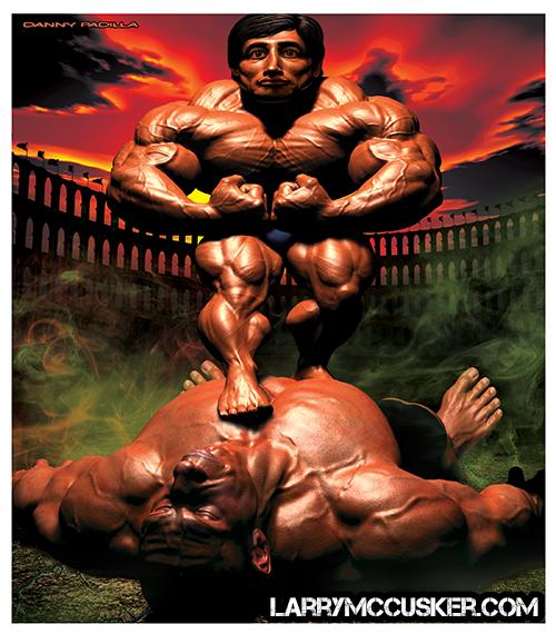 Bodybuilder Danny Padilla