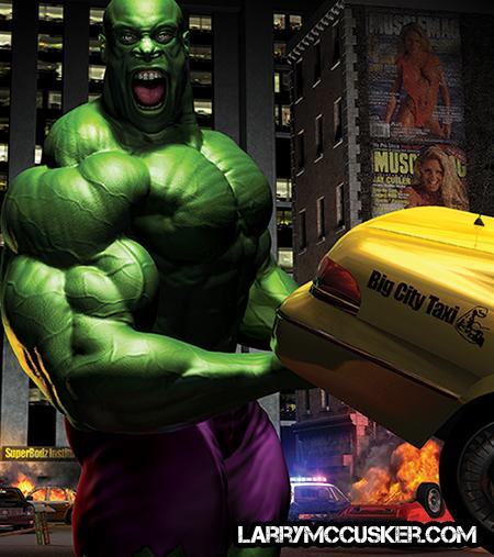 Phil Heath Hulk