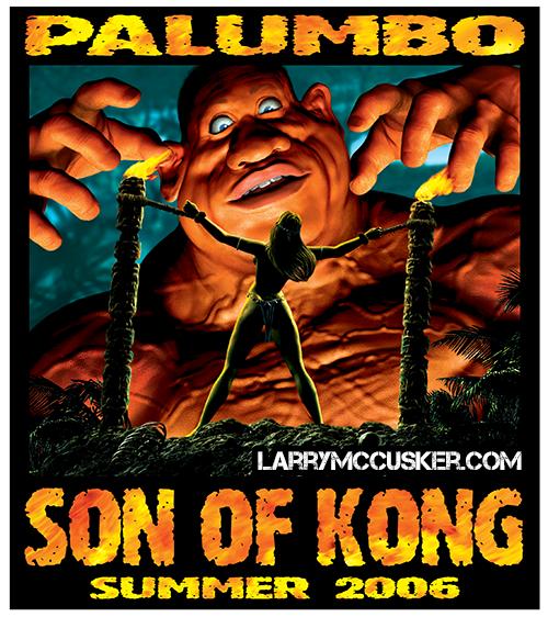 Bodybuilder Palumbo Kong