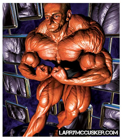 Bodybuilder Andreas Munzer
