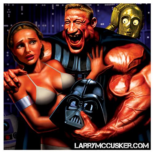 Darth Vader Natalie Portman