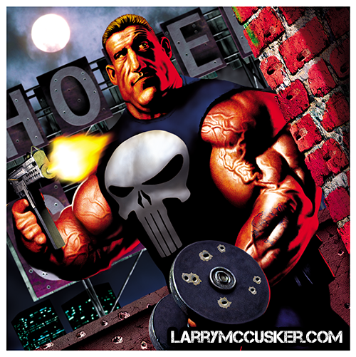 Dorian Yates Punisher