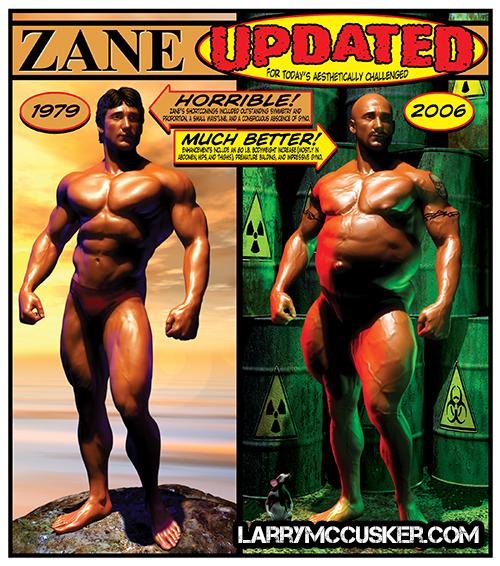 Frank Zane Update