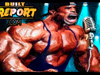 Kevin Levrone Illustration